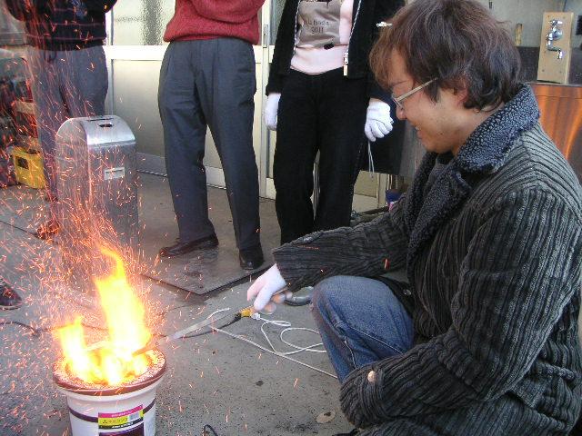 武蔵鶴酒蔵 七輪陶芸の会