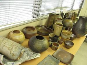 生徒さんの薪窯作品