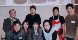 浦和レッズの選手とスタッフ(体験教室)