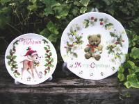 クリスマス絵皿